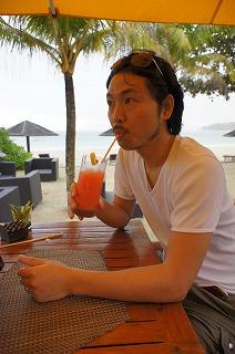 シンガポールから船で1時間のビンタン島 公認会計士・萱場玄