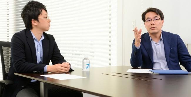 弥生会計 代表 岡本氏 クラウド請求書サービスMisoca 代表 豊吉氏 その1