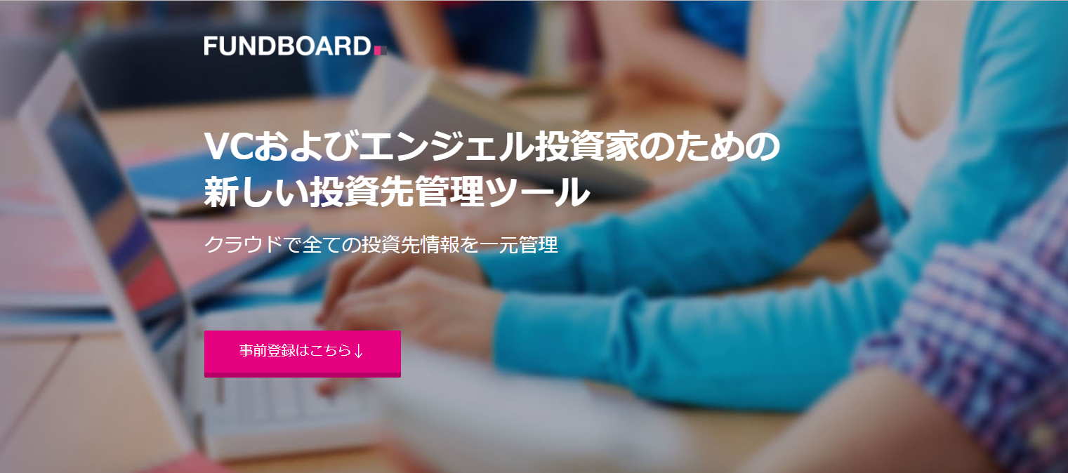 FUND BOARD TOP画面