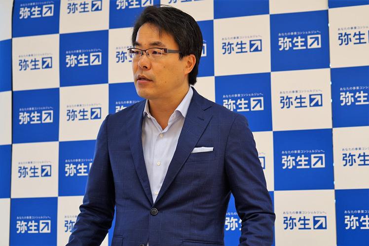 弥生19シリーズ新製品発表会 岡本浩一郎 氏
