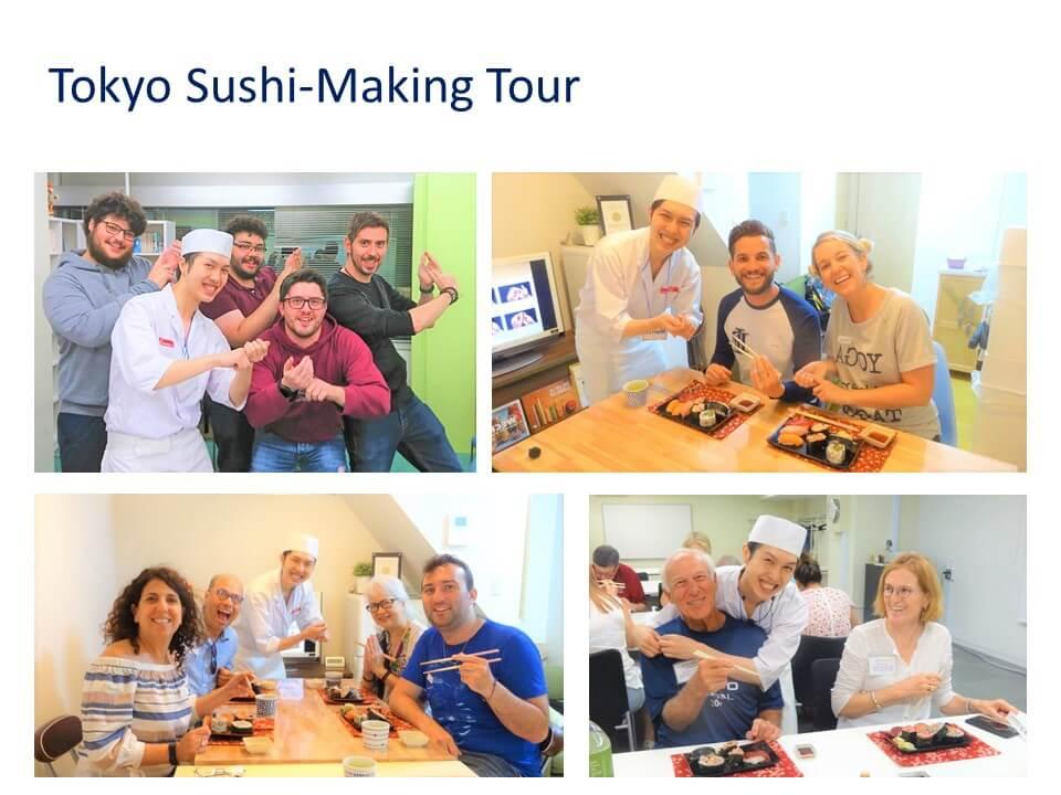 森下 直也 Tokyo Sushi-Making Tour 代表 監査法人タカノ 代表社員 公認会計士 スライド