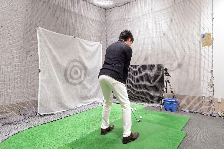 大丸・松坂屋 外商サービス ゴルフ売り場併設の試打室