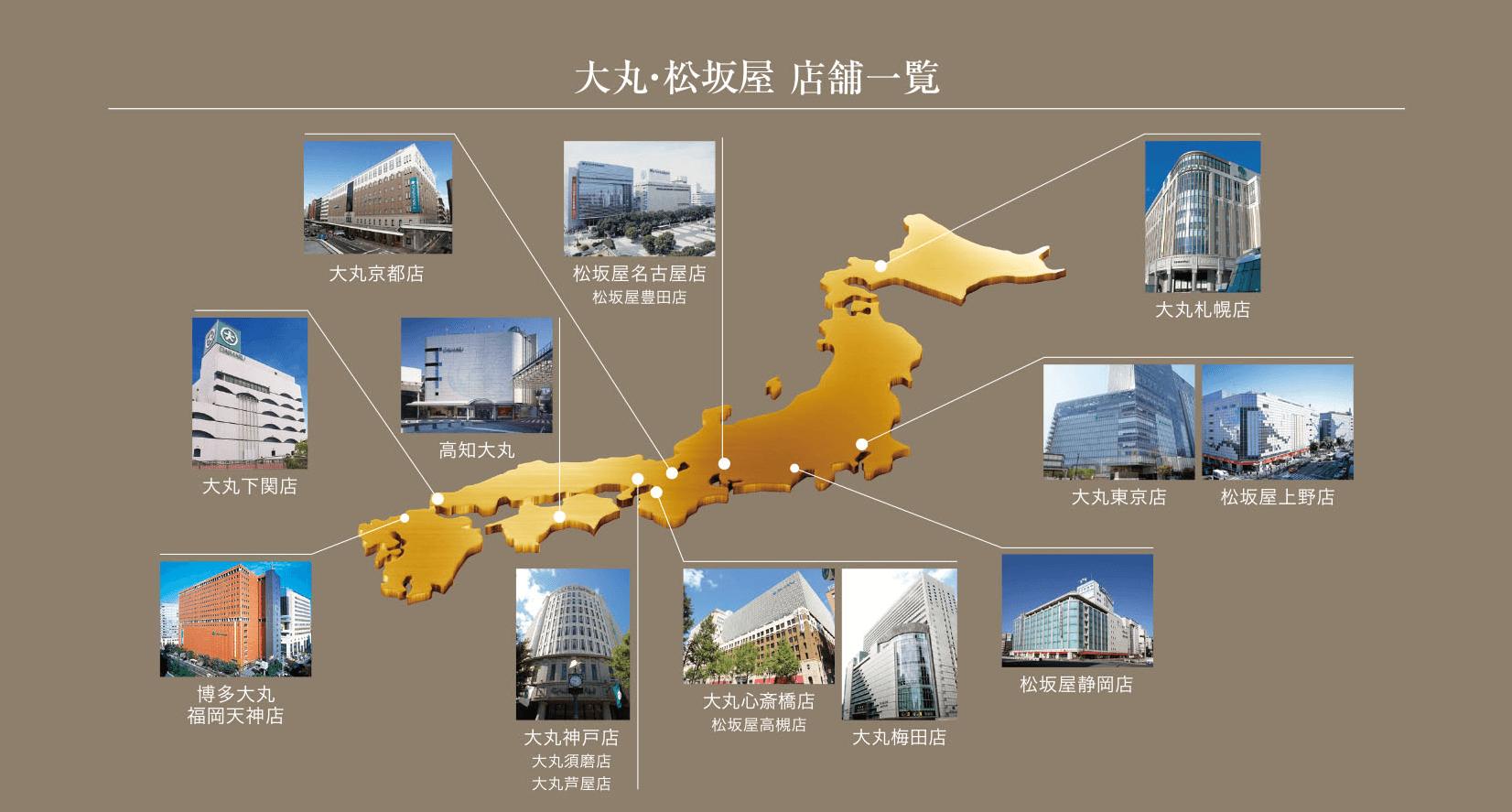 大丸・松坂屋 外商サービス